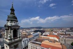Budapest - herauf Ansicht Stockbild