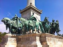 Budapest heroes Stock Photo