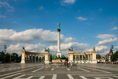 Budapest Heroes square Stock Image
