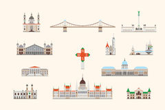 Budapest historical building royalty free stock photography