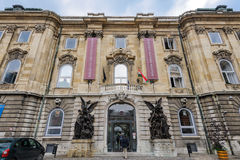 Budapest historiemuseum royaltyfri fotografi