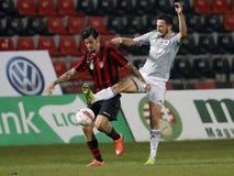 Budapest Honved v Vasas FC - Hungarian OTP Bank Liga  2-1 Stock Image