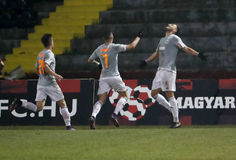 Budapest Honved v Vasas FC - Hungarian OTP Bank Liga  2-1 Stock Photo