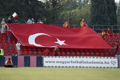 Budapest Honved vs. Galatasaray football match Stock Photography