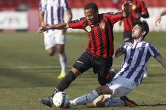 Budapest Honved vs. Ujpest FC OTP Bank League football match Royalty Free Stock Photo