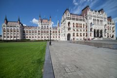 budapest hungarian parlament Obrazy Stock