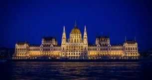 budapest hungarian parlament Zdjęcia Stock