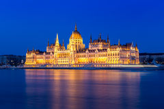 budapest hungarian parlament Fotografia Royalty Free