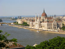 budapest hungarian parlament Obrazy Royalty Free