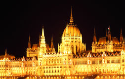 Budapest - Hungarian parliament. Royalty Free Stock Image