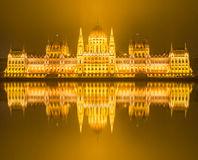 Budapest, Hungarian Parliament Royalty Free Stock Image