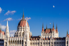 Budapest, Hungarian Parliament Building Stock Photography
