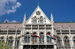 Budapest, Hungarian Parliament Royalty Free Stock Images