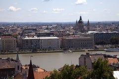 Budapest Hungary. Cityscape of Budapest Hungary summer 2009 stock image