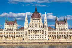 Budapest, Hungary. The building of the Hungarian Parliament in Budapest Stock Photography