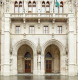 Budapest, Hungary - 17 April 2018: The building of the Hungarian Parliament. royalty free stock images