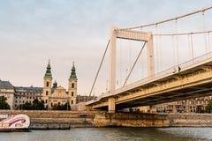 Elisabeth Bridge in Budapest Royalty Free Stock Photography