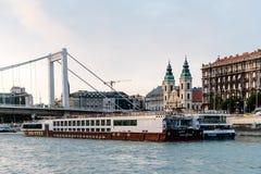 Elisabeth Bridge in Budapest Stock Photography