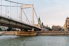 Elisabeth Bridge in Budapest Royalty Free Stock Photos