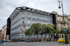 House of Terror Museum in Budapest royalty free stock photography