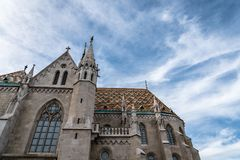 Matthias Church in Budapest a sunny day of summer Stock Photo