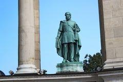 BUDAPEST, HUNGARY - AUGUST 08, 2012: Sculpture of Lajos Kossuth Zsigmond Kisfaludi Strobl, 1955. royalty free stock photo