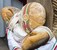 Traditional folk fair in honor of Saint Istvn and the first bread in Hungary with folk masters. Budapest. Hungary royalty free stock photography