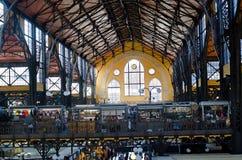 Budapest, Hungary:Central market hall (Vásá Royalty Free Stock Image