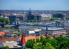 Budapest. Hungary. Cityscape Royalty Free Stock Images