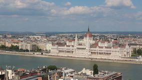 Budapest, Hungary stock video footage