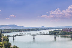 Budapest Hungary. And Danube river royalty free stock photo
