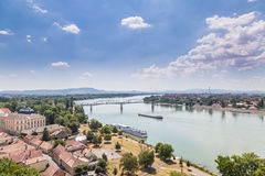 Budapest Hungary. And Danube river stock images