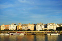 Budapest Hungary and Danube River Royalty Free Stock Photography