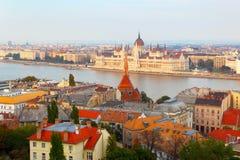 Budapest. Hungary. Danube. Stock Images