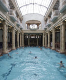 Budapest hungary europe bathrooms gellert. Interior view of the thermal complex gellert in budapest stock image