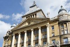 BUDAPEST, HUNGARY/EUROPE - 21 DE SEPTIEMBRE: Casa de Anker en Budapes foto de archivo