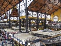 Budapest hungary europe indoor market Stock Images