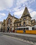 Budapest hungary europe indoor market Stock Image