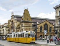 Budapest hungary europe indoor market Royalty Free Stock Photo