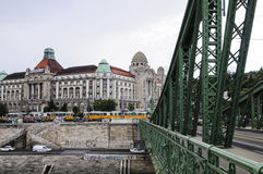 Budapest hungary europe liberty bridge Royalty Free Stock Photography