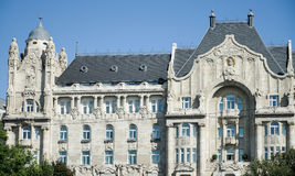 BUDAPEST, HUNGARY/EUROPE - SEPTEMBER 21 : Four Seasons Hotel Gresham Palace in Budapest Hungary on September 21, 2014 stock images