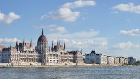 BUDAPEST, HUNGARY/EUROPE - SEPTEMBER 21 : Hungarian Parliament b royalty free stock image