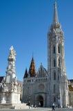BUDAPEST, HUNGARY/EUROPE - SEPTEMBER 21 : Matthias Church in Bud. Apest Hungary on September 21, 2014. Unidentified people Royalty Free Stock Image