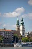 BUDAPEST, HUNGARY/EUROPE - 21. SEPTEMBER: Szent Anna Templom herein Stockfotografie
