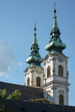 BUDAPEST, HUNGARY/EUROPE - 21. SEPTEMBER: Szent Anna Templom herein Stockfoto