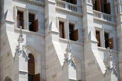 BUDAPEST HUNGARY/EUROPE - SEPTEMBER 21: Ungersk parlament b fotografering för bildbyråer