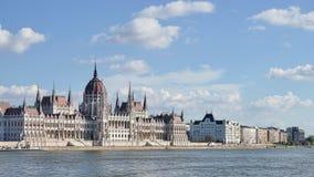 BUDAPEST, HUNGARY/EUROPE - 21 SETTEMBRE: Il Parlamento ungherese b immagine stock libera da diritti