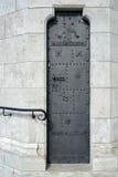 BUDAPEST, HUNGARY/EUROPE - WRZESIEŃ 21: Drzwi w ścianie przy Fisher obrazy royalty free