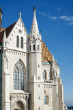 BUDAPEST, HUNGARY/EUROPE - WRZESIEŃ 21: Matthias kościół w Bu zdjęcie stock