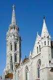 BUDAPEST, HUNGARY/EUROPE - WRZESIEŃ 21: Matthias kościół w Bu Obrazy Stock